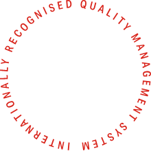 Internationally recognised quality management systems